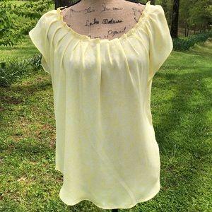 Lauren Conrad sleeveless blouse